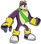 Sonic X Rotor The Walrus Re-color By Sonicwe23