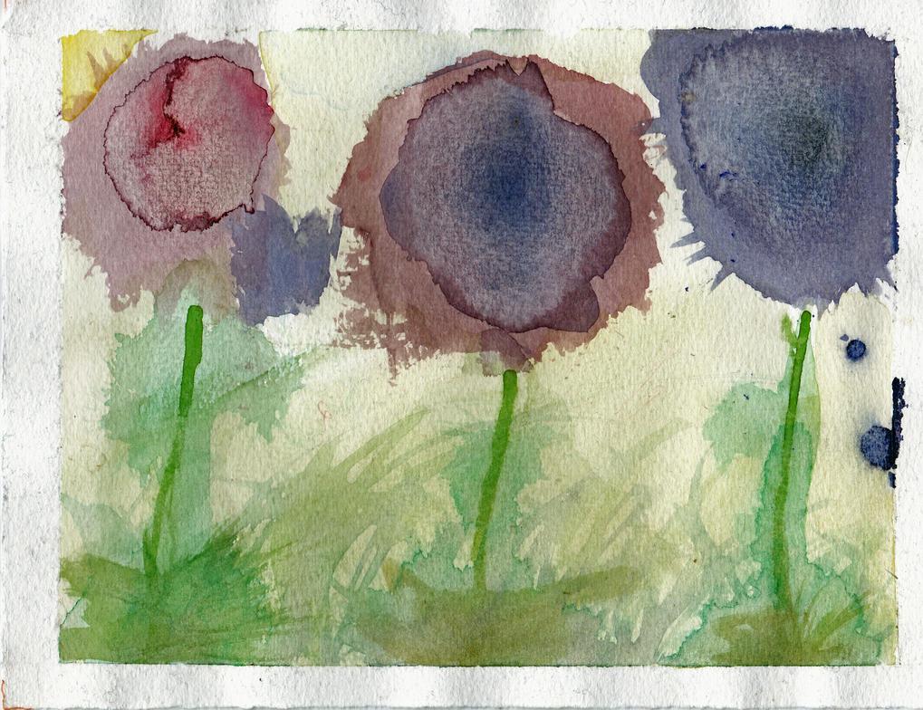Forrest flower by Lou-Sifer