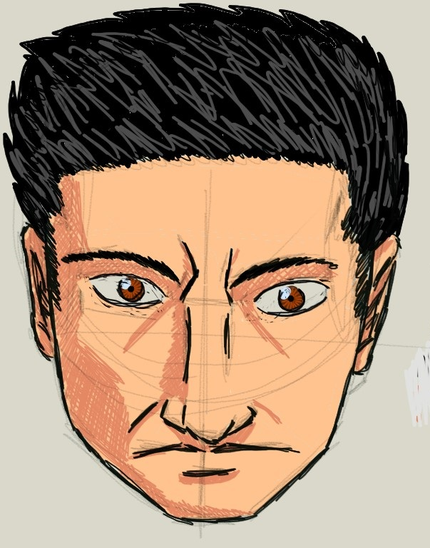 Man Face by Amaro-House
