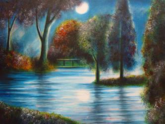 Lake Elisia. by RichWalker