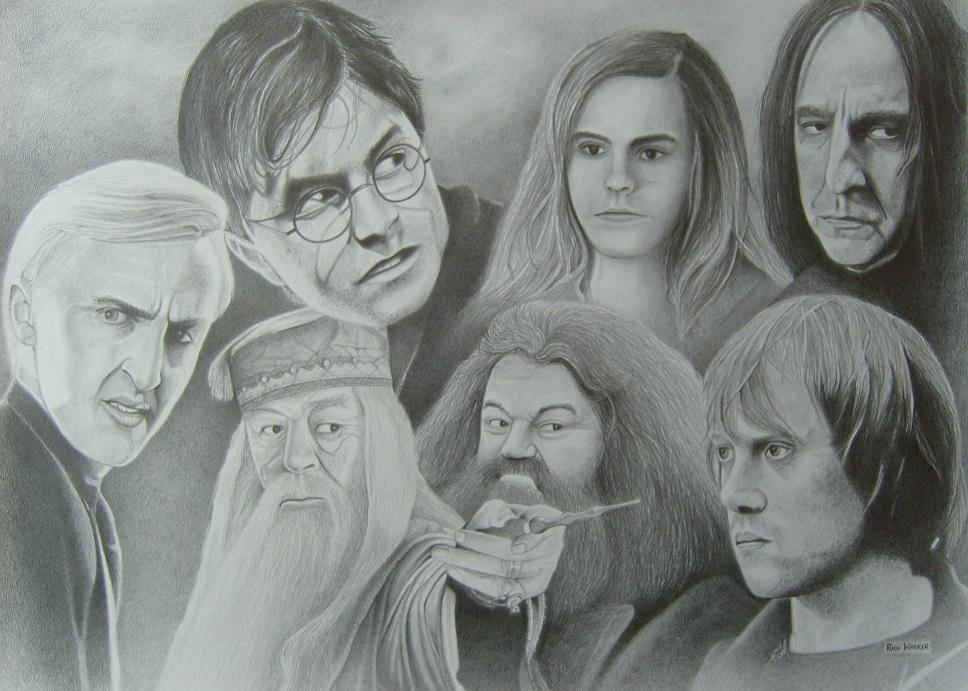 Harry Potter by RichWalker