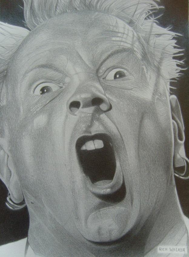 Johnny Rotten by RichWalker
