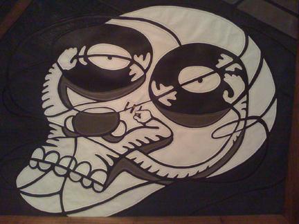 DJ De Los Muertos detail by longleather