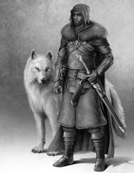 Lord Snow by CurtisWalkerWood