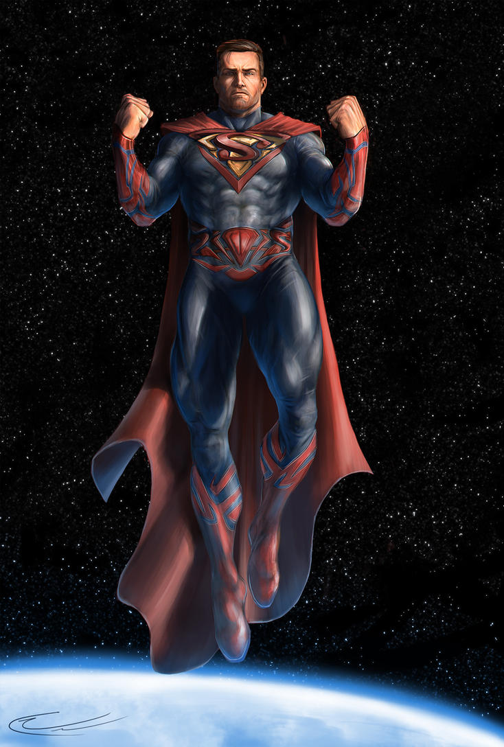 Superman by CurtisWalkerWood
