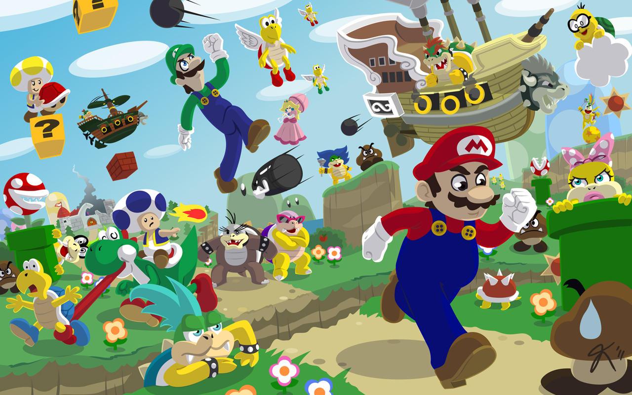 Go Mario Go by JoRoKa