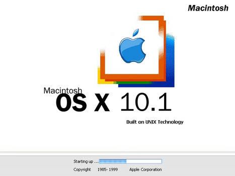 Windows OS X boot screen
