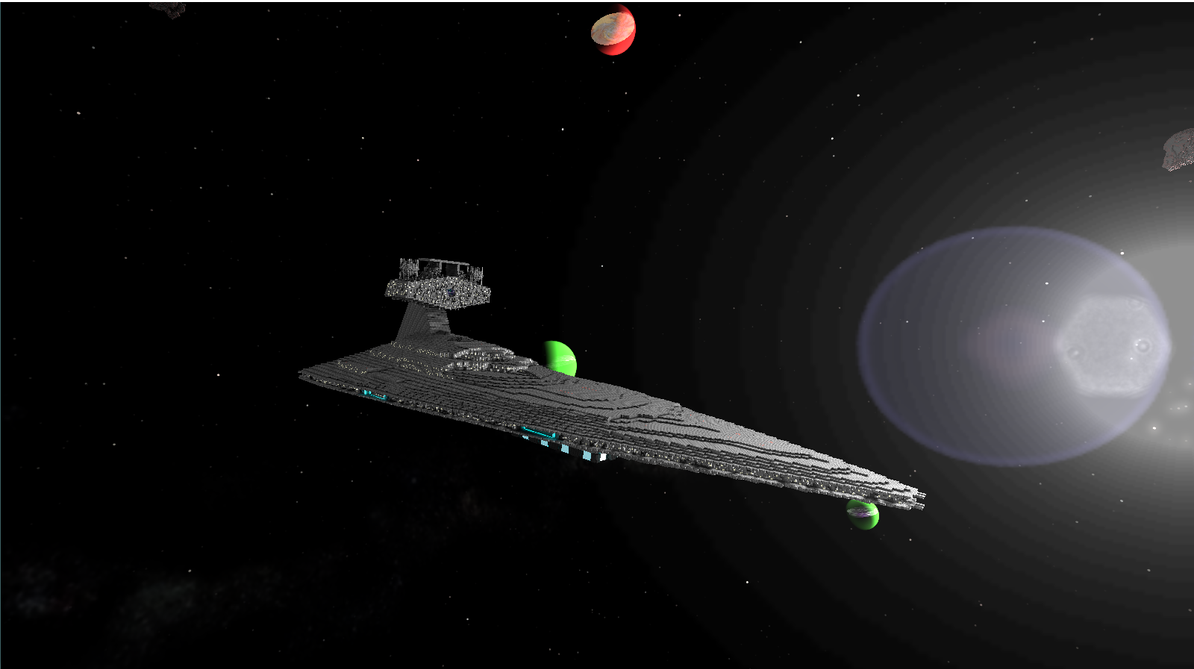 Imperial Star Destroyer Starmade (Exterior) by sheldiner on DeviantArt