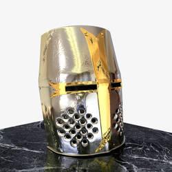Medieval Knight Helmet by sheldiner