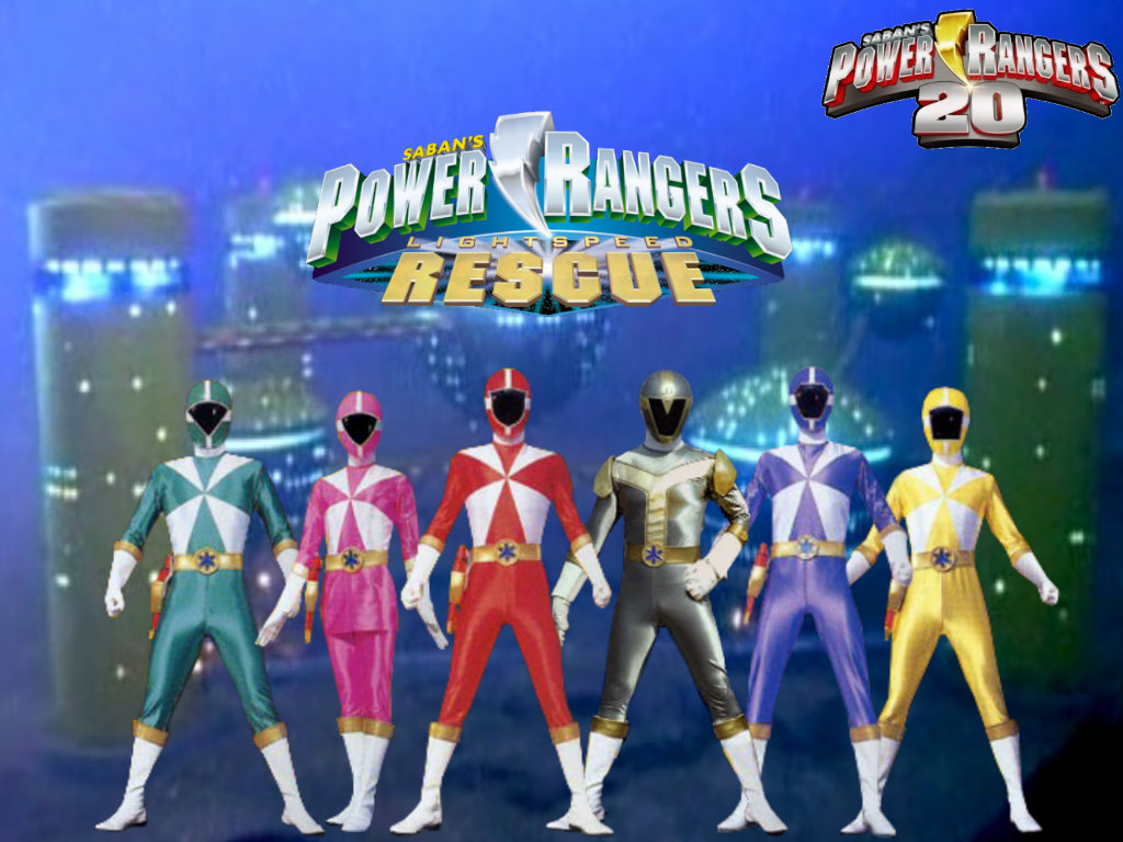 Power Rangers 20 Lightspeed Rescue By Thepeopleslima On