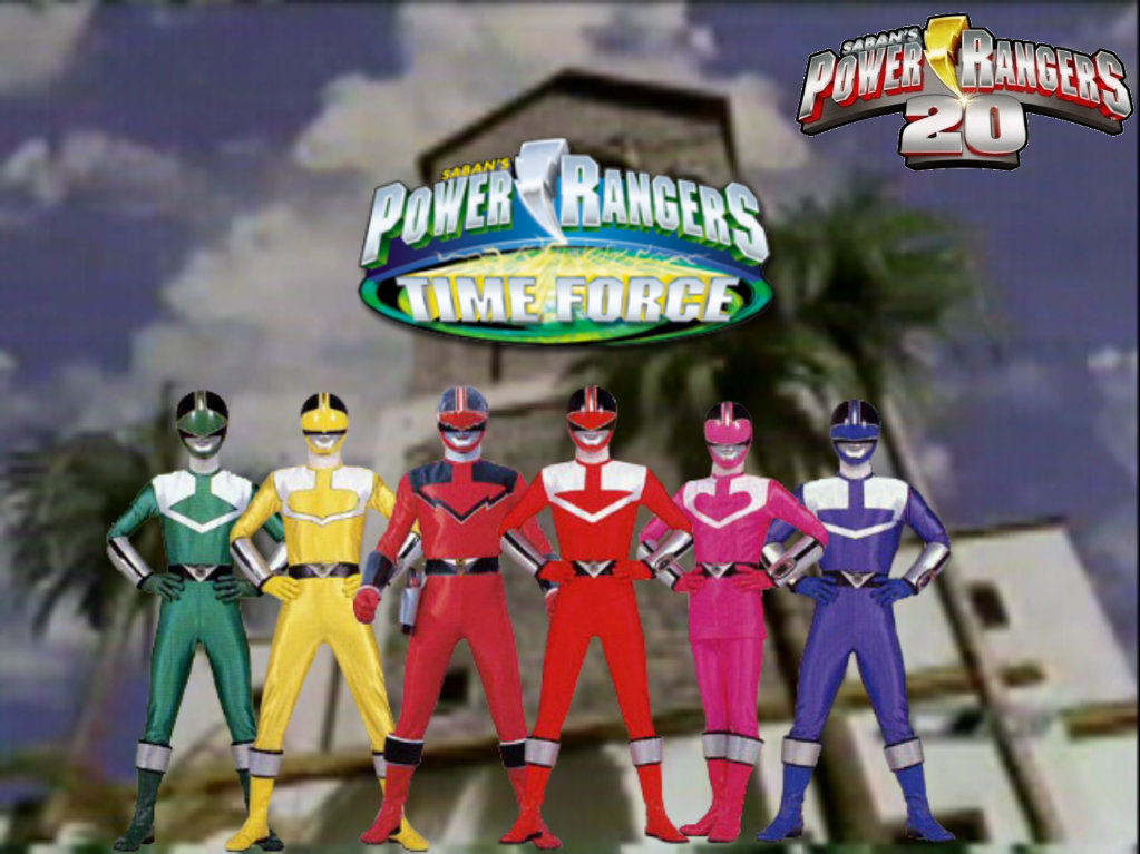 Power Rangers 20 - Time Force by ThePeoplesLima on DeviantArt