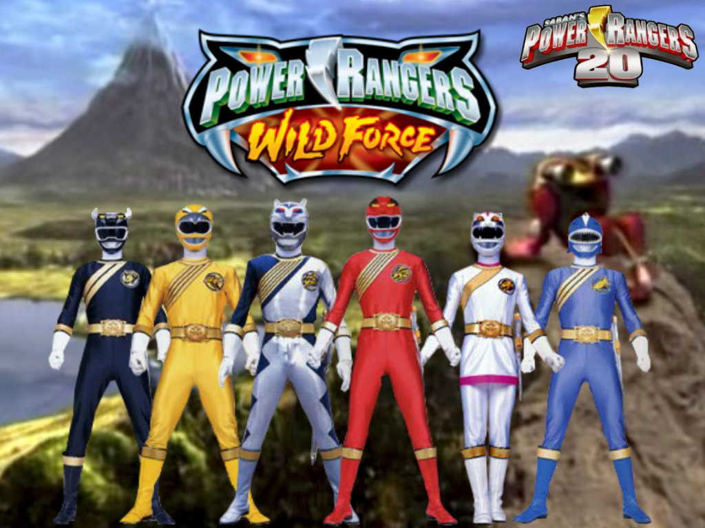 Power Rangers 20 Wild Force By ThePeoplesLima