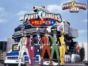 Power Rangers 20- S.P.D.