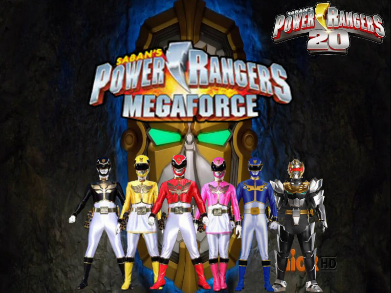 power rangers megafore