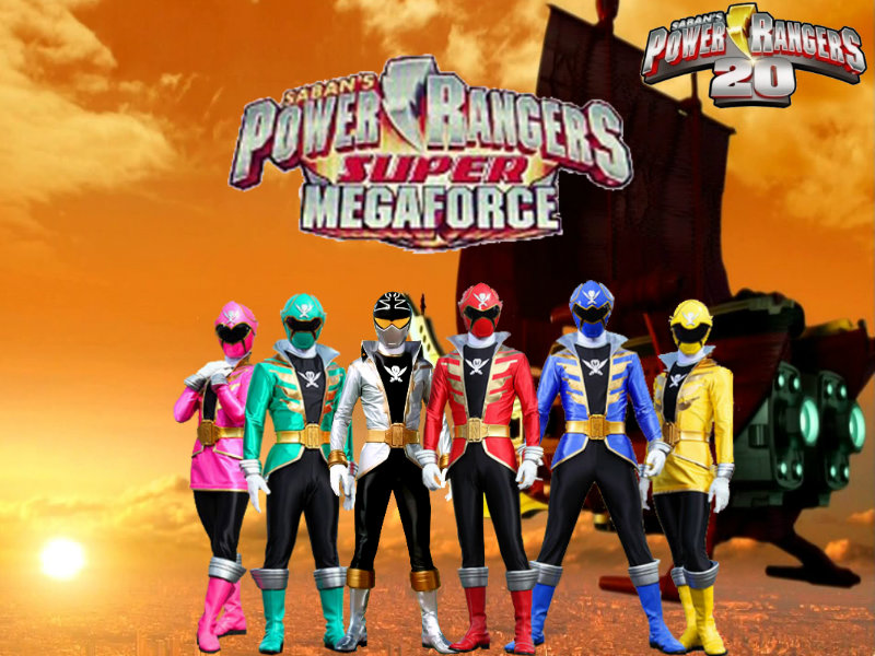 Power Rangers 20- Super Megaforce by ThePeoplesLima on ...