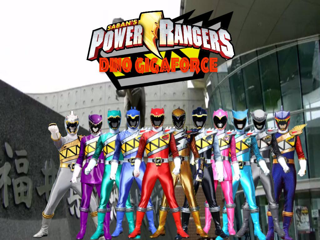 Power Rangers Dino Gigaforce By Thepeopleslima On Deviantart