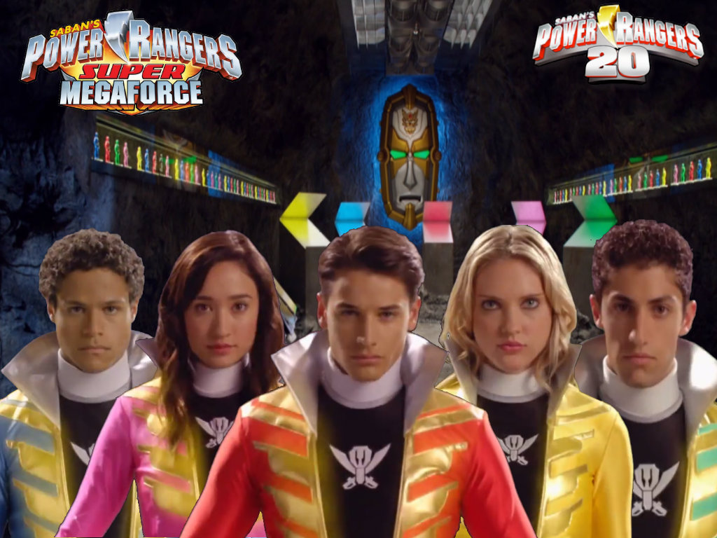Power Rangers Super Megaforce Cast Helmetless 2 by