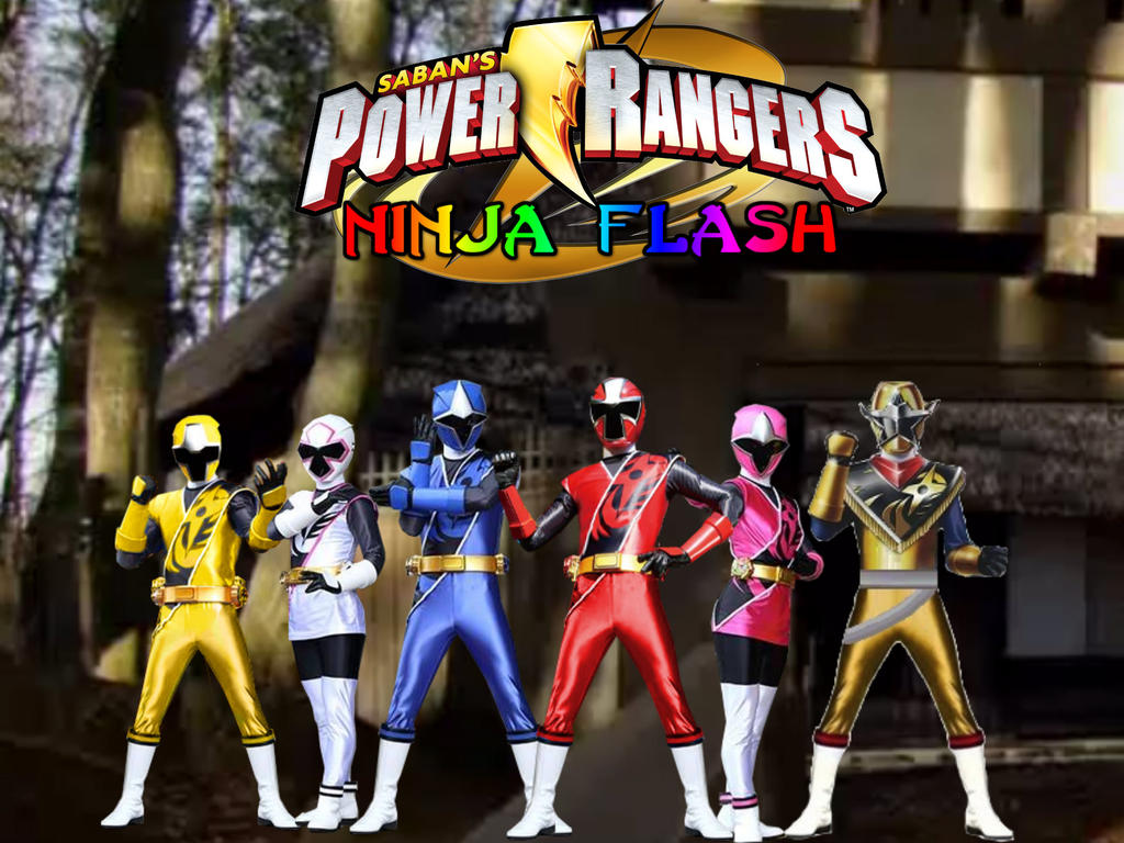 power rangers flash