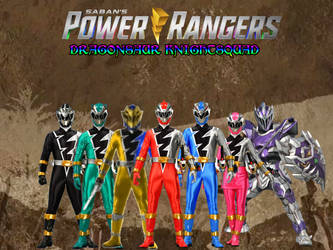 Power Rangers Dragonsaur KnightSquad 5 by ThePeoplesLima