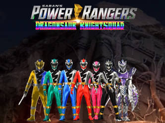 Power Rangers Dragonsaur KnightSquad 6 by ThePeoplesLima