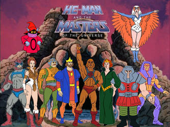 Masters Of The Universe- Heroes by ThePeoplesLima