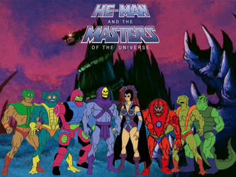 Masters Of The Universe- Villains by ThePeoplesLima