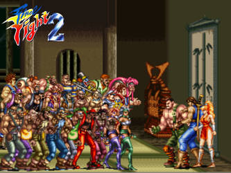 Final Fight 2 Showdown by ThePeoplesLima