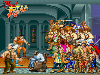 Final Fight 1 Showdown by ThePeoplesLima