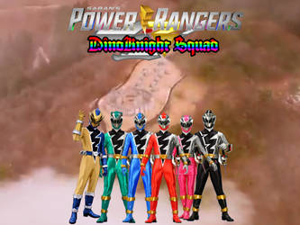 Power Rangers DinoKnight Squad by ThePeoplesLima