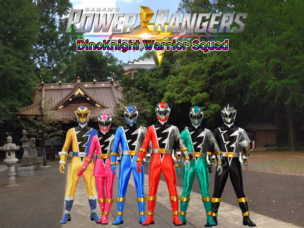 Power Rangers DinoKnight Warrior Squad by ThePeoplesLima
