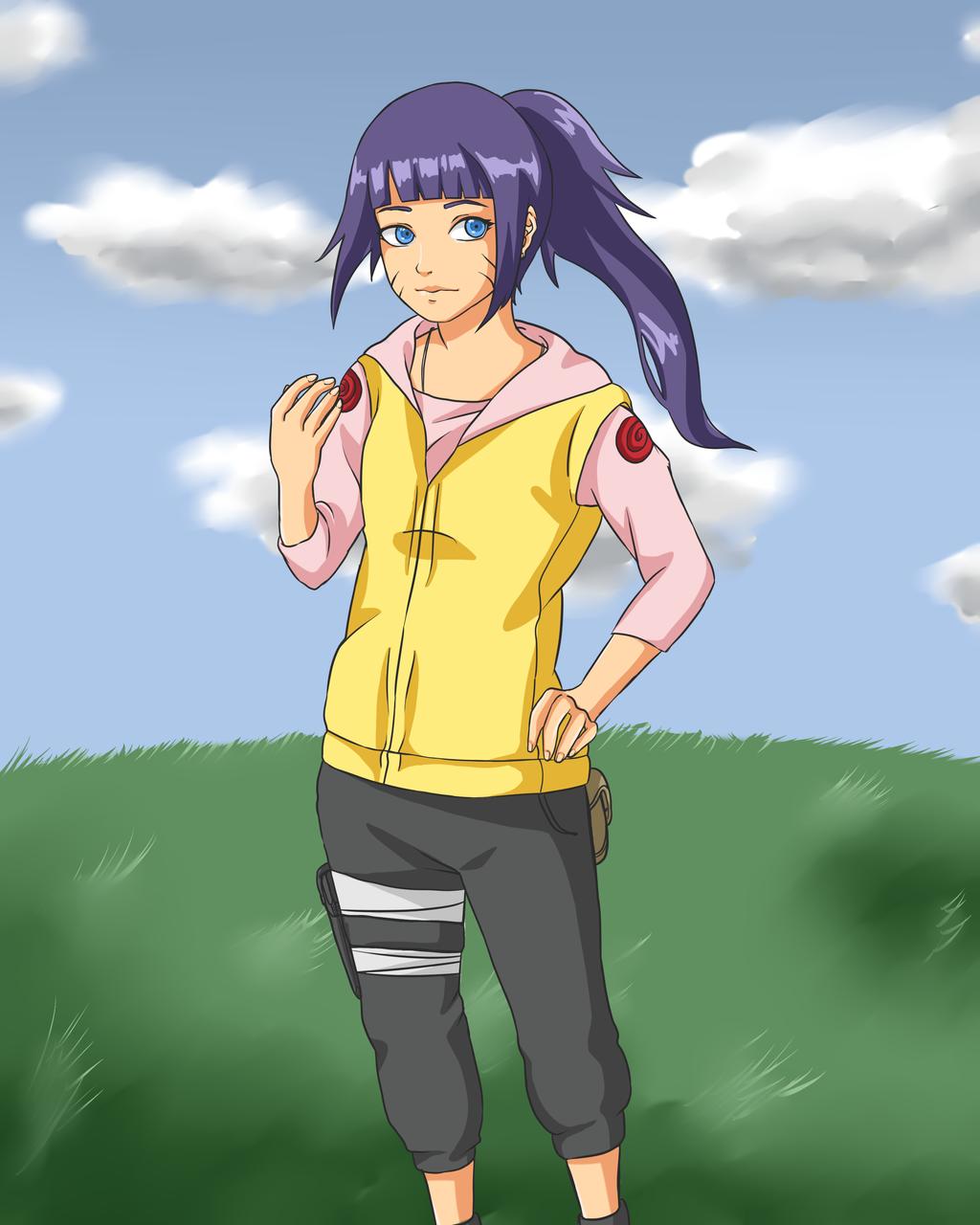 Uzumaki Himawar... Hinata And Naruto Baby