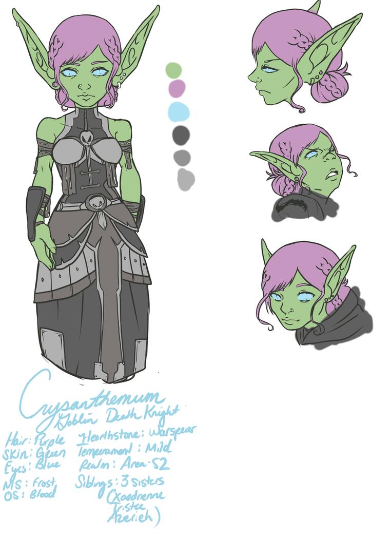 Crysanthemum: Character Sheet by Mizuno-Suzuka