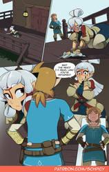Zelda Comic - pg1
