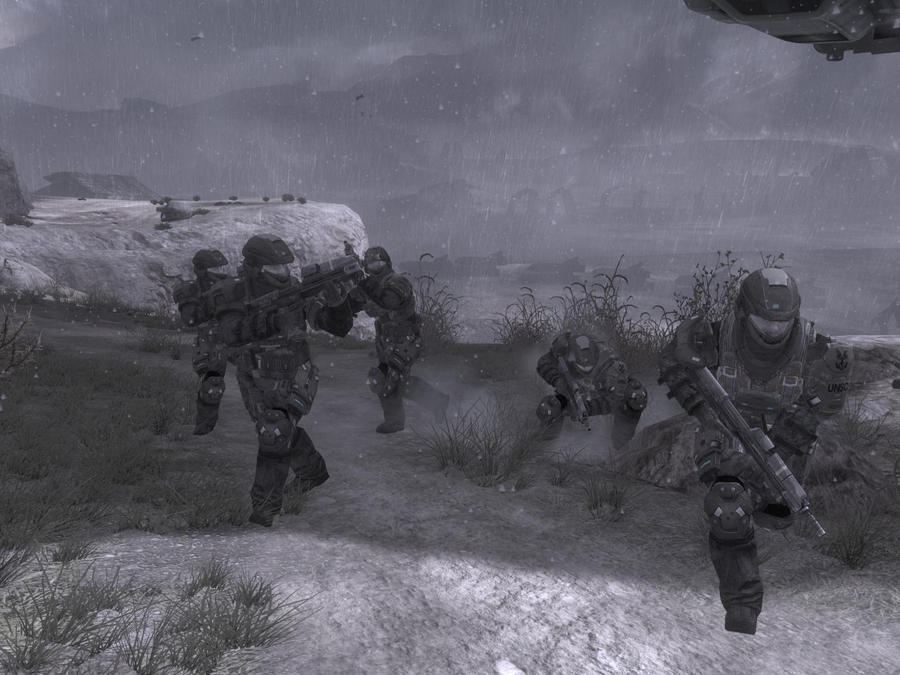 Marines in halo reach by KitsuneYin on DeviantArt