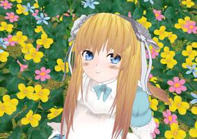 Alice in land of dreams by KitsuneYin