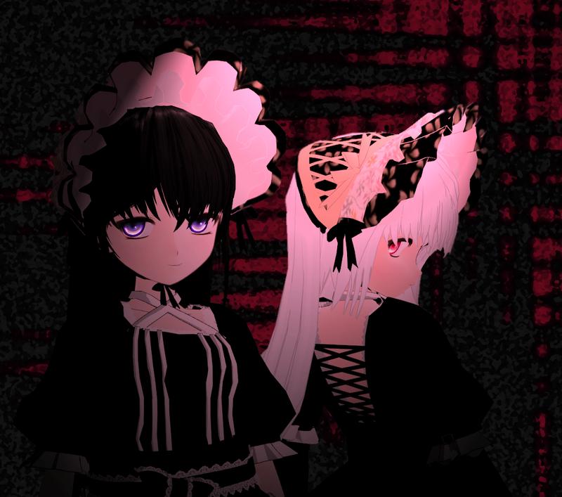 Arabelle y Gretel by KitsuneYin