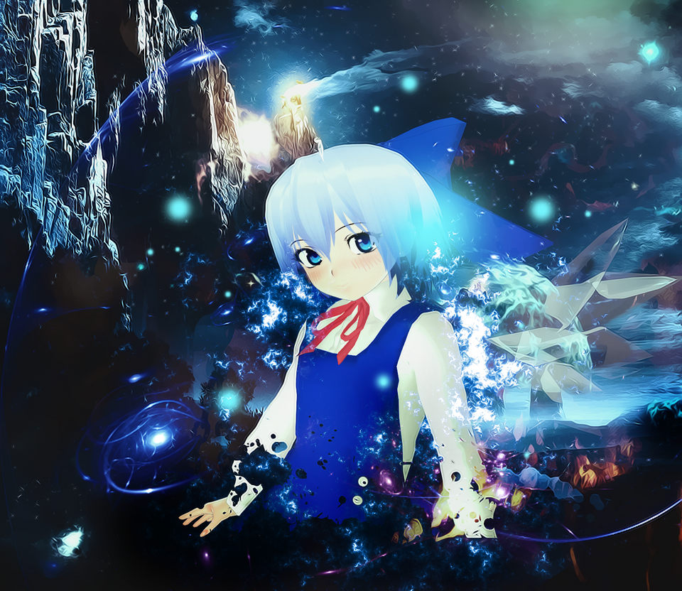 ice goddess by KitsuneYin