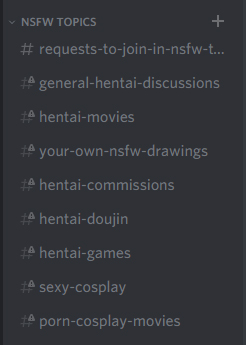 Nsfw Topics by KitsuneYin