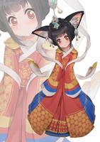 Monster Girl #153 by KitsuneYin