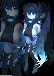 Gao Monster Girl #257 by KitsuneYin