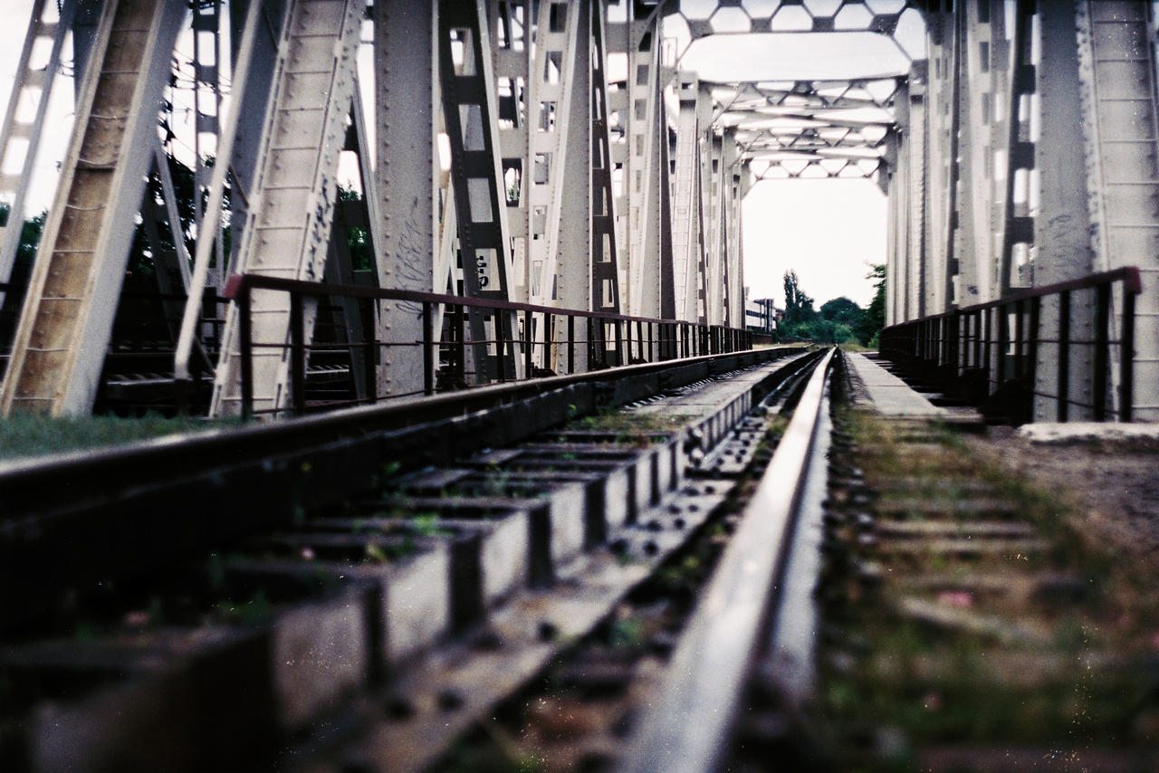 Train Bridge by Just-n-Do