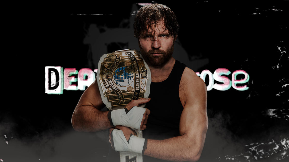 Dean Ambrose IC Champ Wallpaper By TyNick98