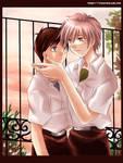 NGE Kaworu and Shinji ...again