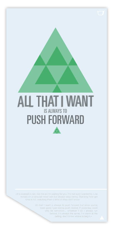 Push Forward by rzrbckdesign