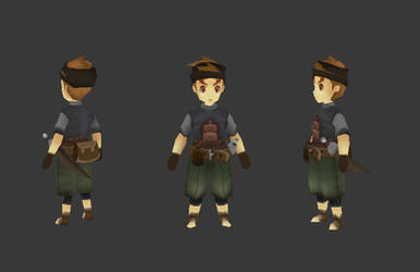 lowpoly character