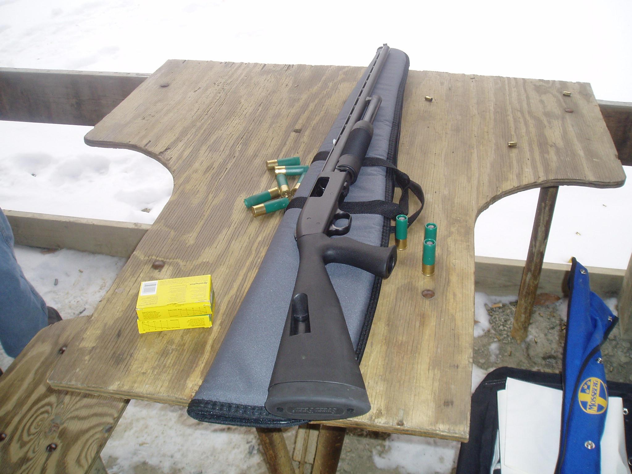 Mossberg Slug Gun By