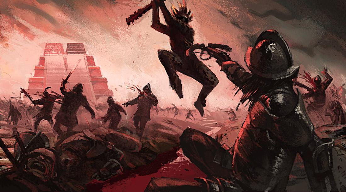 Battle in Tenochtitlan