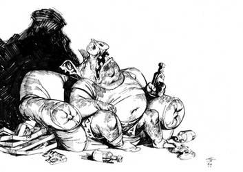 Drunken Pig by Jastorama