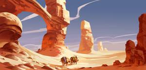 Desert Caravan