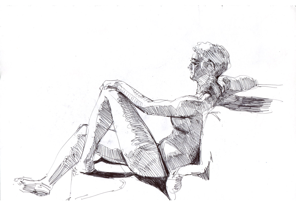lifedrawing by Jastorama